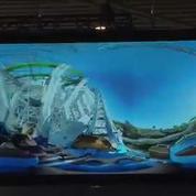 Mobile World Congress : Samsung embarque les visiteurs dans des montagnes russes en 4D