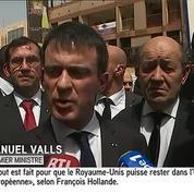 Valls à Ouagadougou : «Nous partageons les mêmes valeurs»