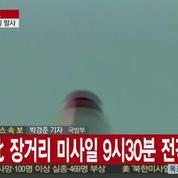 La Corée du nord a lancé une fusée de longue portée