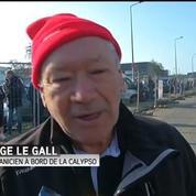 La Calypso quitte Concarneau pour la Turquie