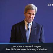 John Kerry à Paris pour préparer les pourparlers de Genève sur la Syrie