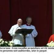 «Urbi et Orbi», le message pascal du Pape François contre le terrorisme