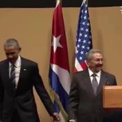 Raul Castro ridiculise Barack Obama en refusant son accolade