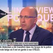 Molenbeek : Ciotti dénonce une «opération de communication»