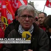 Loi Travail : la mobilisation va continuer, promet Jean-Claude Mailly