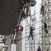 Tchernobyl attend toujours son nouveau sarcophage monumental
