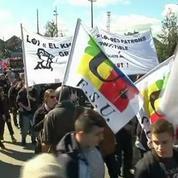 A Nantes, de nouvelles violences lors de la manifestation contre la loi Travail