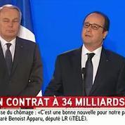 François Hollande éprouve