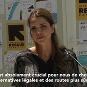 Rania de Jordanie réclame des routes plus sûres pour les réfugiés