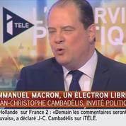 Pour le patron du PS : Macron, Tapie, même combat