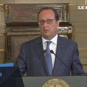 La question des droits de l'homme abordée par François Hollande en Egypte