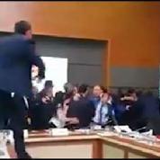 Bagarre générale au parlement turc autour de l'immunité parlementaire