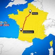 LGV Atlantique : Deux heures relieront Bordeaux et Paris