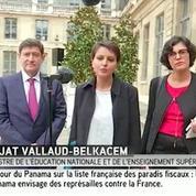 Najat Vallaud-Belkacem sur la loi travail :