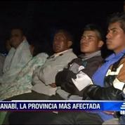 Séisme en Equateur: course contre la montre pour retrouver des survivants