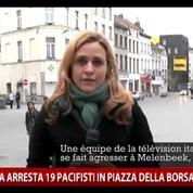 Molenbeek : des journalistes de la télévision italienne agressés en plein direct