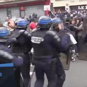 Loi Travail : incidents à Paris