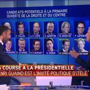 Primaire de la droite : Henri Guaino prendra sa décision dans les semaines qui viennent