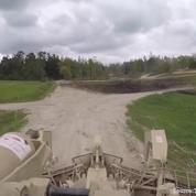 Ce tank américain antimines est impressionnant en action