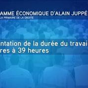 Alain Juppé présente son programme économique pour retrouver le plein emploi