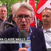 Le bras de fer est loin d'être fini, selon Jean-Claude Mailly