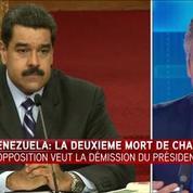 Venezuela: l'opposition veut la démission de Nicolas Maduro
