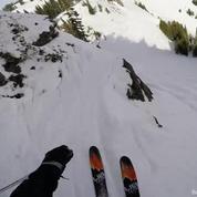 Les exploits du skieur Léo Taillefer filmés à la première personne