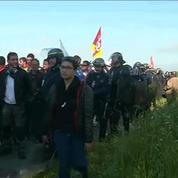 Le dépôt pétrolier de Donges évacué par les forces de l'ordre