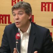 Loi travail : Arnaud Montebourg défend la CGT