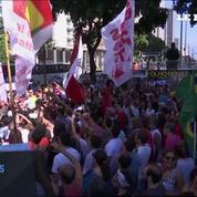 Brésil: manifestation contre le remplaçant de Dilma Rousseff