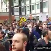 Manifestation à Paris : situation tendue entre les manifestants et les forces de l'ordre