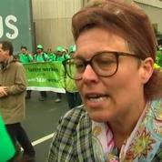 Belgique : les fonctionnaires manifestent dans les rues de Bruxelles