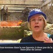 Rome: des ruines découvertes sur le chantier du métro