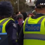 Melbourne : des heurts éclatent lors d'une manifestation entre nationalistes et soutiens aux musulmans