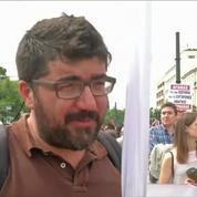 Grèce: Heurts devant le Parlement avant un vote contesté