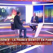 Les blocages de raffineries ne sont pas légitimes, selon Michel Sapin