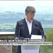 Présidentielle 2017 : Arnaud Montebourg veut construire un projet alternatif