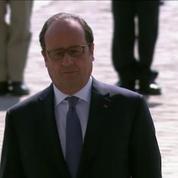 Cérémonies du 8 mai sous haute surveillance pour François Hollande