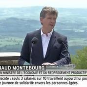 Arnaud Montebourg veut «susciter un projet alternatif»