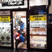 Quand des braqueurs pas très doués volent un magasin de montres