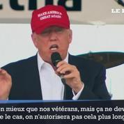 «Les immigrants clandestins sont mieux traités que les vétérans», estime Donald Trump