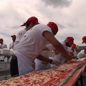 Nouveau record du monde pour la plus grande pizza du monde