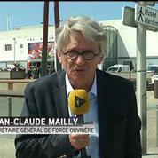 Jean-Claude Mailly (FO) : Force Ouvrière soutient les blocages