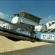 Le transport fluvial reprend doucement en Île-de-France