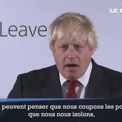 Boris Johnson tente de rassurer les déçus du Brexit