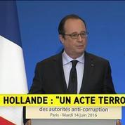 Magnanville : C'est un acte incontestablement terroriste, a déclaré François Hollande