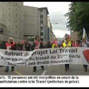 Manifestation du 23 juin: défilés en régions contre la loi travail