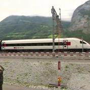 La Suisse a inauguré le plus long tunnel au monde