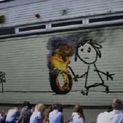 Banksy fait un cadeau surprise à des écoliers