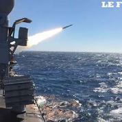 Au cœur d'une simulation d'attaque de la frégate militaire française Jean Bart
